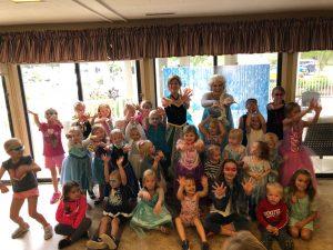 Grandparents & Grandkids Princess Party